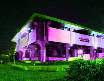 Дом-паметникът в Добрич светва в лилаво в подкрепа на недоносените деца