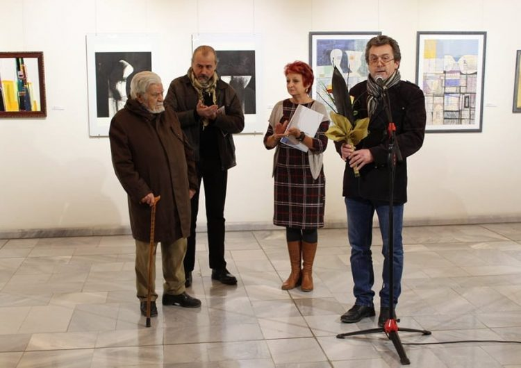 С изложба Галерията почете Дружеството на художниците в Добрич и основателите му