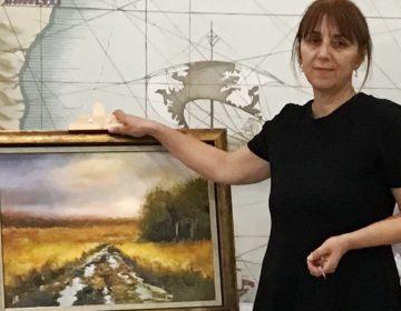 Изложба на художничката Лиляна Русева от Добрич гостува на балчиклии
