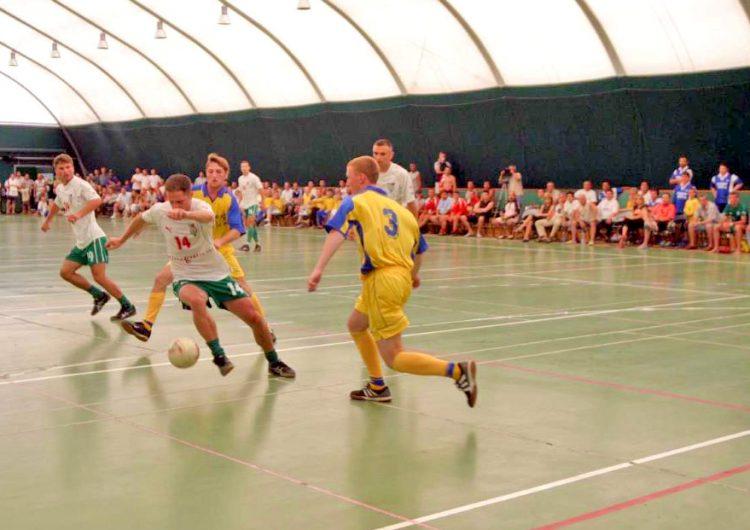Спортната зала в курорта Албена предлага най-добрите условия за футзал